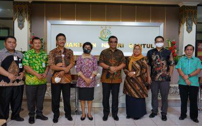 Kejari Bantul : Kunjungan Kerja Tim Reformasi Birokrasi (RB) Kejaksaan Agung RI